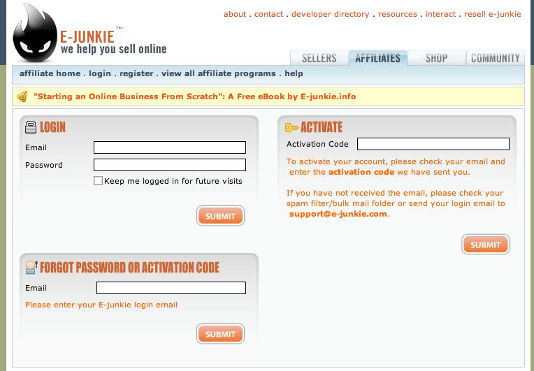 Affiliate Sign Up Instructions - Archangel Ink